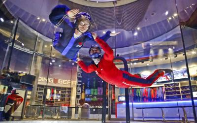 Indoor Skydiving Centre Sees 300% Sales Increase in media sales